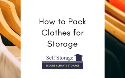 How to Pack Clothes for Storage