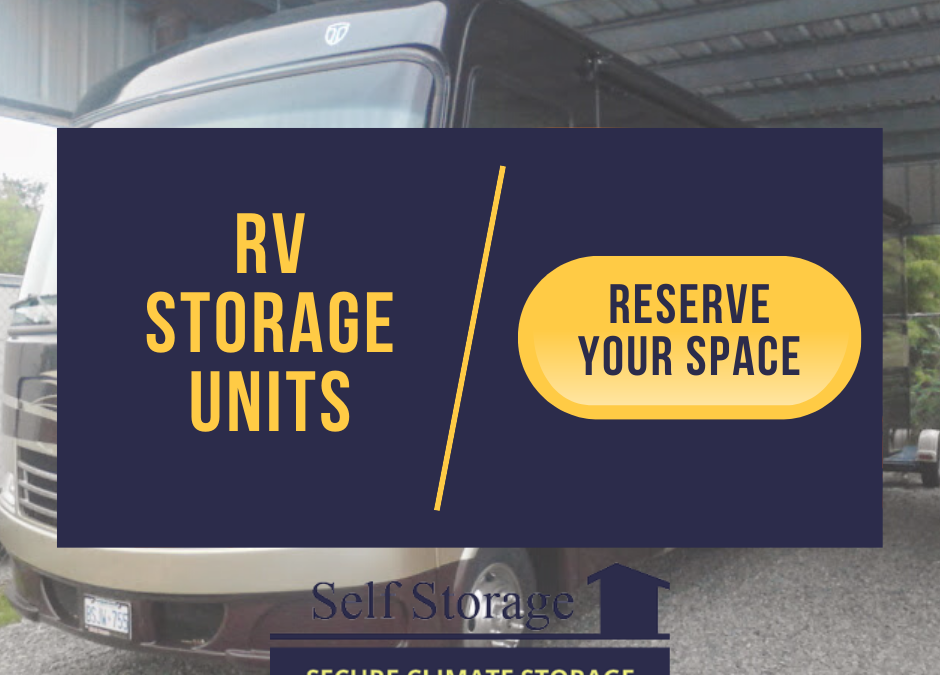 How to Store an RV