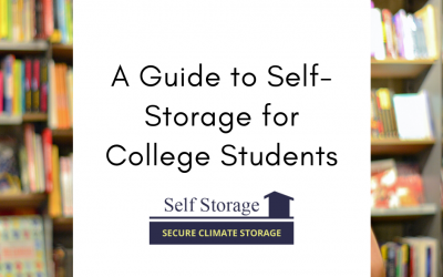 A Guide to Self-Storage for College Students