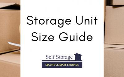 Storage Unit Size Guide