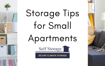 Storage Tips for Small Apartments