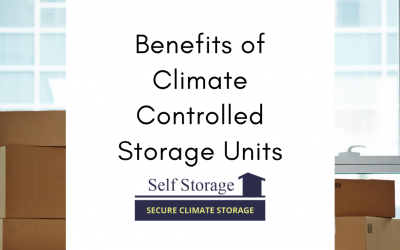 Benefits of Climate Controlled Storage Units