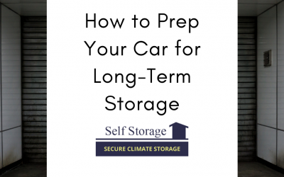 How to Prep Your Car for Long-Term Storage