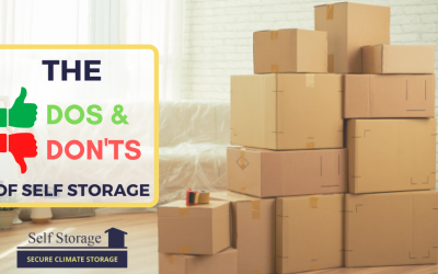 The Dos and Don'ts of Self-Storage