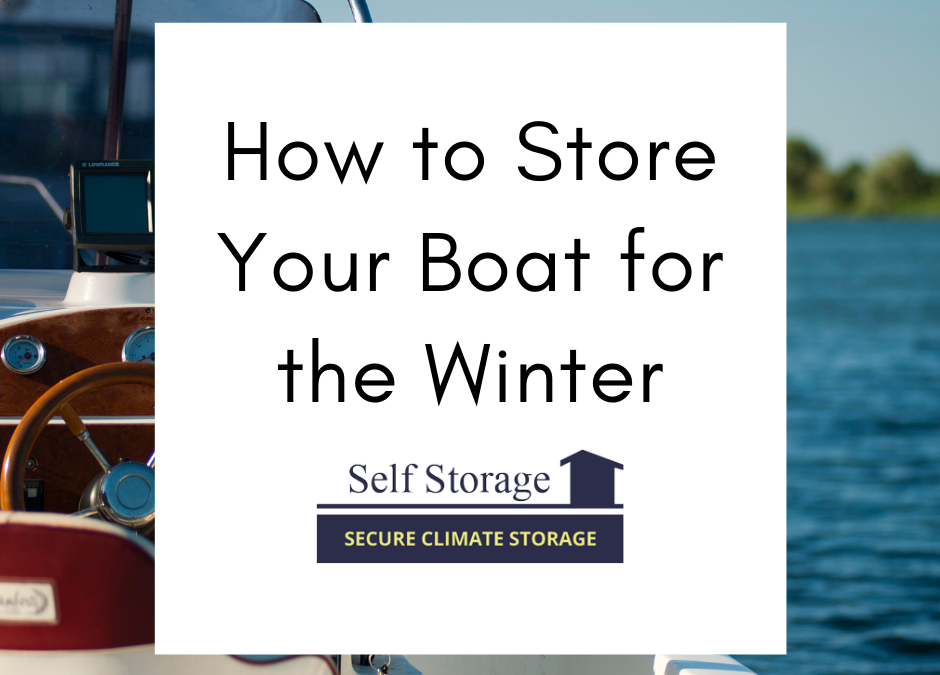 How to Store Your Boat for the Winter